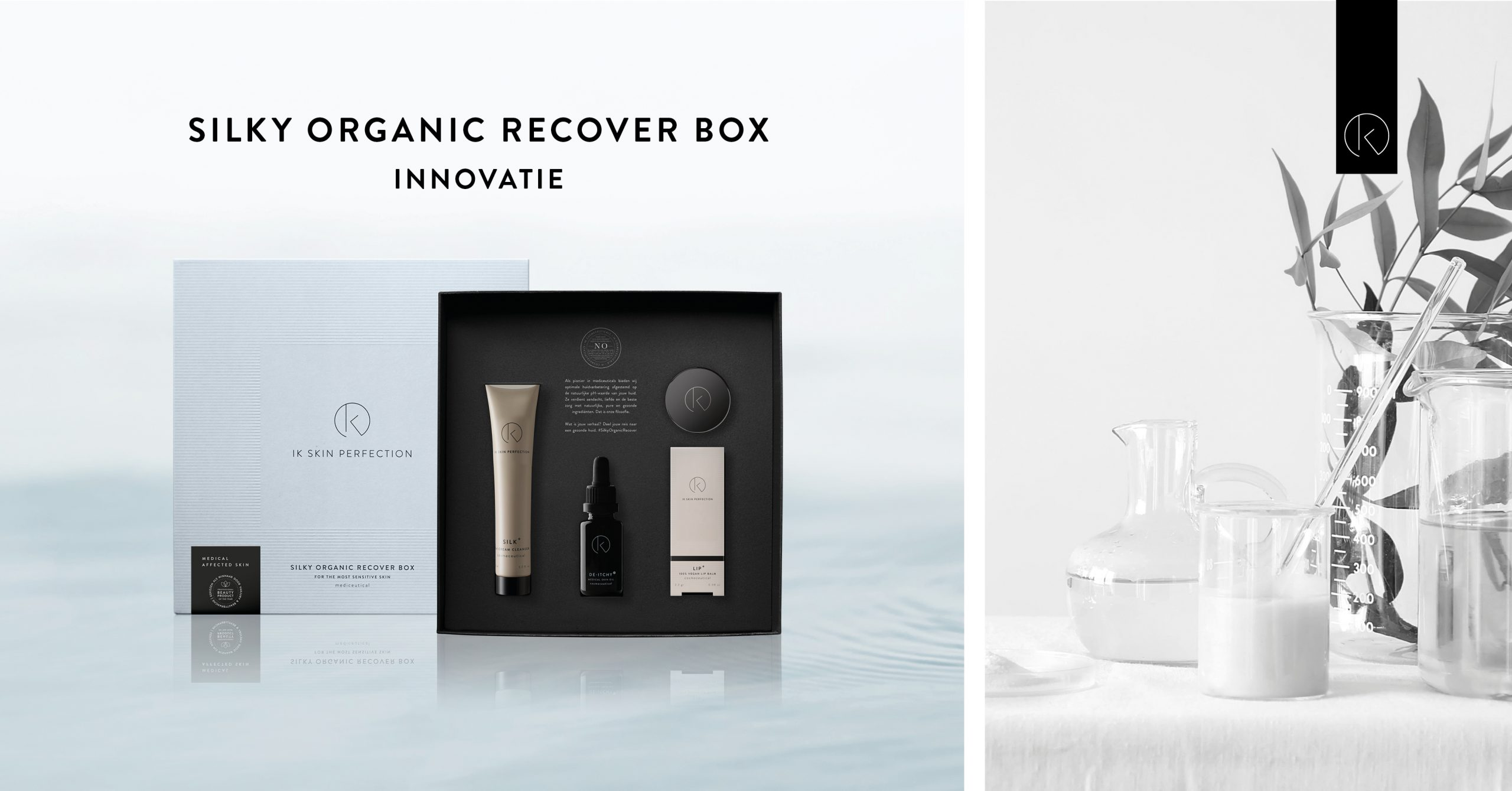 Silky Organic Recover box - IK Skin Perfection