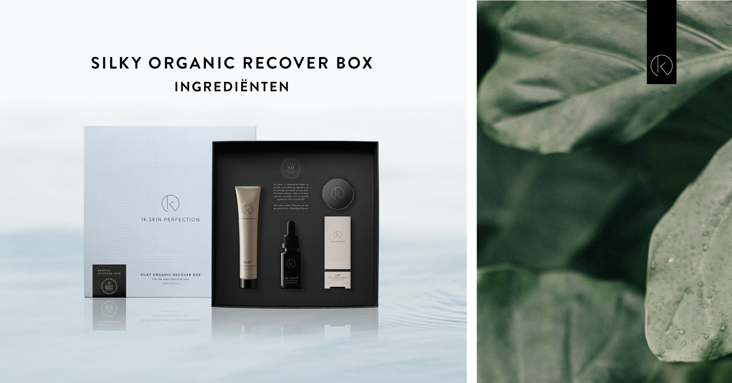 Silky Organic Recover Box by IK Skin Perfection